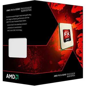 AMD FX-8300 AM3 CPU | Turbo Octa-core | Black Edition