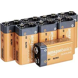 Amazon Basis Batteries for Smoke Detectors | Durable