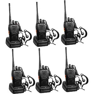 Arcshell FRS Radios │ Compact │ Rechargeable