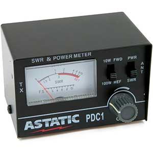 Asiatic PDC1 Power And SWR Meter For Ham Radio | 100 Watt