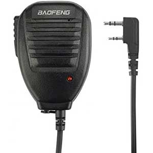 BF S112 Two-Way Speaker Mic for BaoFeng | Rotatable Clip