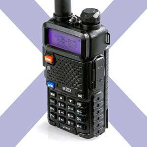 BTECH HAM Radio for Satellites | LCD Display