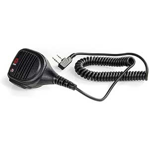 BTECH QHM22 Speaker Mic for BaoFeng | Water Resistant