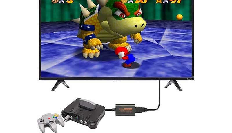 Best GameCube HDMI Adapter