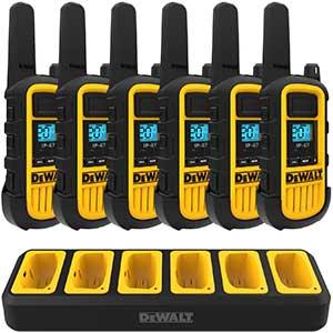 DEWALT 2 Way Radios for Construction | Shock Resistant