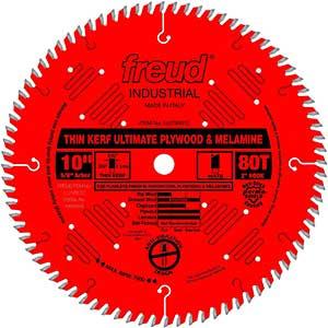 """Freud   10"""" x 80T   Saw Blade for Cutting Engineered Wood Flooring"""