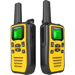 Komvox 2 Way Radios for Construction | Affordable