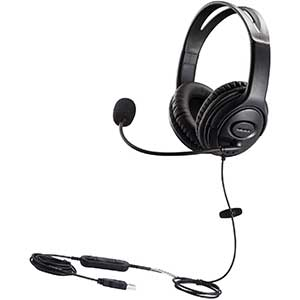 MKJ | USB Headset for Rosetta Stone | With Microphone | Office