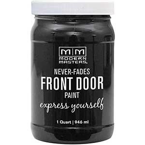 Modern Masters Exterior Metal Door Paint | Satin Elegant