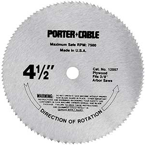 PORTER-CABLE   Saw Blade for Cutting Engineered Wood Flooring
