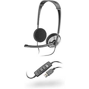 Plantronics | PLNAUDIO478 | Stereo USB Headset for Rosetta Stone