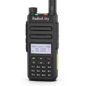 Radioddity HAM Radio for Satellites | Light Weight