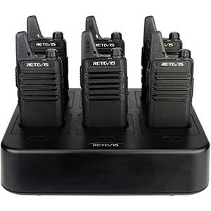 Retevis 2 Way Radios for Construction | Flash Light