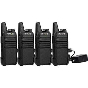 Retevis RT22 FRS radios │ Wide Range │ VOX