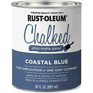 Rust-Oleum Ultra Matte Exterior Metal Door Paint | Coastal Blue