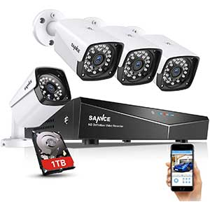 SANNCE Poe Security Camera System   xPOE camera   Night Vision
