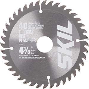 SKIL   Saw Blade for Cutting Engineered Wood Flooring   4-3/8-Inch