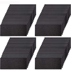 Sandpaper for Glass | 120 to 3000 Girt | 60 Pcs | Variety Pack