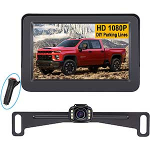 TOGUARD Backup Camera for Jeep Wrangler | 7