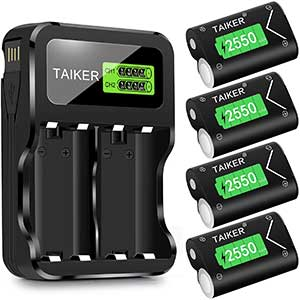 Taiker Batteries for Xbox One Controller   4 Batteries