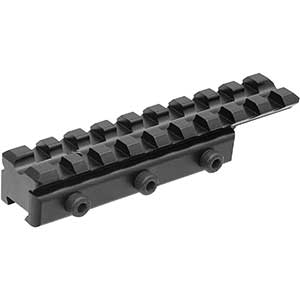 UTG Dovetail to Picatinny Adapter   Affordable