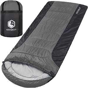 VENTURE Sleeping Bag for Side Sleepers   Single/XXL/Double