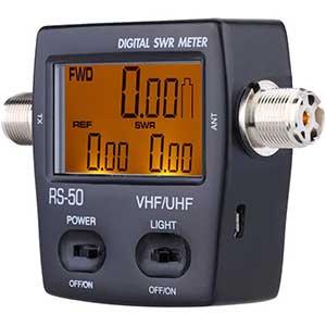 Youmei RS-50 Digital SWR Meter For Ham Radio | LCD Backlight