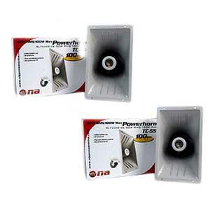 2 PACK PA Power Horn Speaker | 110dB | 2-pack deal