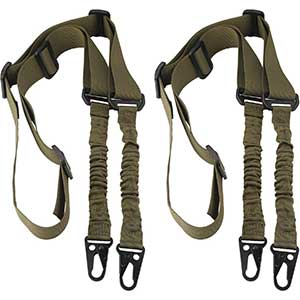Accmor 2 Point Sling | Pack of 2 | Metal Hook