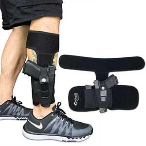 Concealed Carrier Ankle Holster for Glock 43|Adjustable | high-Quality