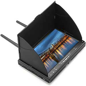 DMKR LCD5802DPro FPV Monitor │ Dual Buffered Output