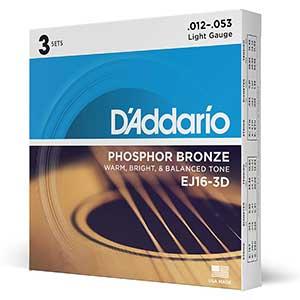 D'addario Strings For Taylor 214CE | Phosphor Bronze