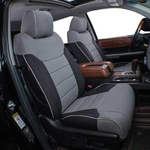 EKR Custom Fit Toyota Tundra Seat Covers | Leatherette