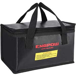ENGPOW | Fireproof | Explosion-proof | Lipo Bag | for Battery