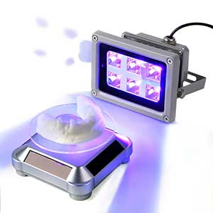 Enomaker UV light for curing resin | 60W output with rotating stand