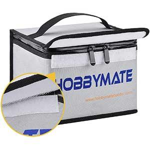 HOBBYMATE | Lipo Bag | Fireproof | Transporting Bag | Double Zipper
