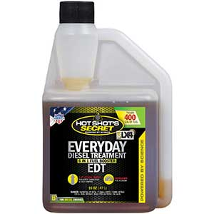 HOT SHOT'S EDT Diesel Fuel Additive for Duramax | Treats 400g