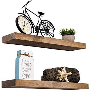 Imperative Decor Floating Shelves | Easy Installation