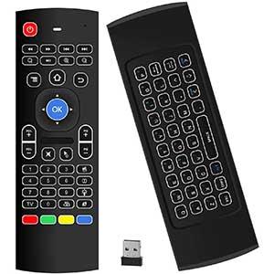 MX3 Pro Backlit Mini Htpc Remote | 6 Axis Motion | LED Backlight