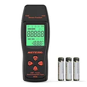 Meterk EMF Detector | Alert Sound