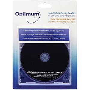 Optimum CD Player Cleaner | Superior Lens Cleaner | Blu-Ray