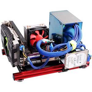 Oumiji | PC Test Bench | Open Frame Computer Case | Aluminum Alloy