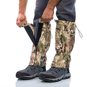 Pike Trail Leg Gaiters for Hunting/Hiking/Skiing | Waterproof