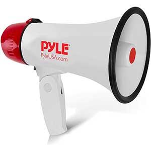 Pyle PMP20 Megaphone Horn Speaker | 1 pound | 20 Watt Adjustable Volume