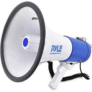 Pyle PMP50 Megaphone Horn Speaker | 1.5 pounds | 50-watt sound