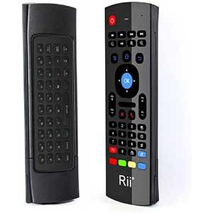 Rii MX3 Multifunction Htpc Remote | 81 Keys | Two Triple-A Batteries