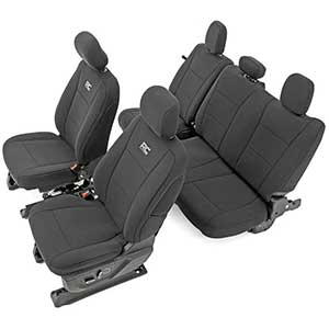 Rough Country Toyota Tundra Seat Covers | Water Resistant