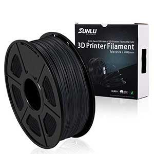 SUNLU PLA Carbon Fiber Filament | 1.75mm | 2.2 lbs
