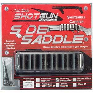 Tacstar Shotgun Side Saddle For Shell | Aluminum Backing