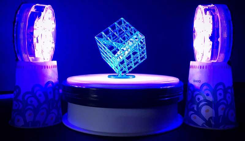 UV Light for Curing Resin
